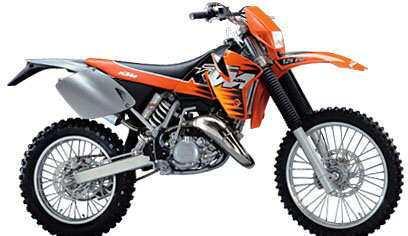 KTM 125-380 '98-'00 400-520 4T '00-