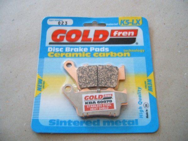 GOLD FREN 'K5-LX' kemény speciális fékbetét (csak off-road motorokhoz) 1