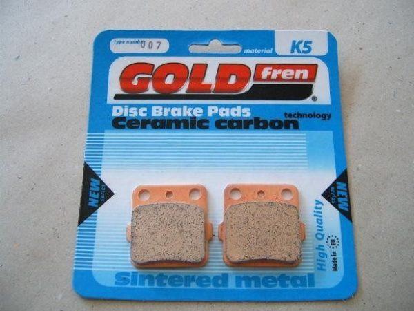 GOLD FREN 'K5' kemény fékbetét (csak off-road motorokhoz) 1