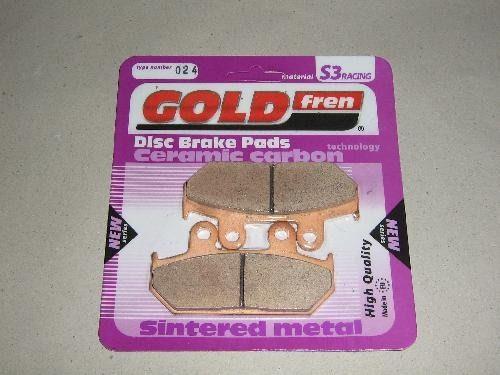 GOLD FREN 'S3' puha fékbetét (robogóhoz) 1