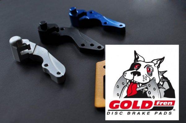 Gold Fren féktárcsa adapter (oversize) 1