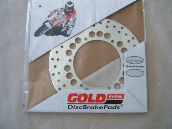 GOLD FREN utcai féktárcsa (hátsó) 1