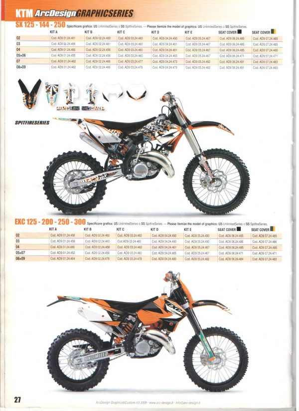 Akciós ARC-Design KTM B-kit 1